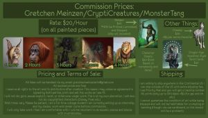 Commissions Chart 2015 OPEN FOR 11 MORE DAYS by MonsterTang
