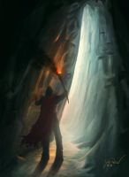 The Crystal Cave by gvbn10
