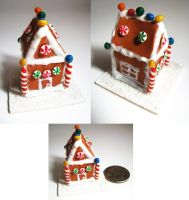 Gingerbread House by SarahRose
