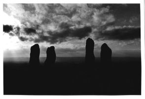Standing Stones Of Clent by LynzMuse