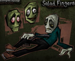 STUDY: Salad Fingers by Austin-Hodge