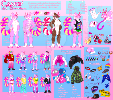 Candy updated ref by CandyChameleon