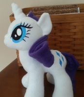 Rarity Plush ver. 2 by MintyStitch