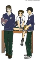 Team Gai : In Highschool by Ketoprak