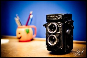 Yashica Mat 124 G by midwatch