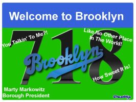 Welcome to Brooklyn by MadDrRob