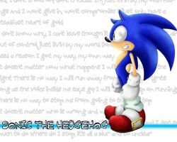sonic the hedgehog wallpaper by shoppaaaa