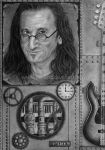 Geddy Lee by DeanSidwellArt
