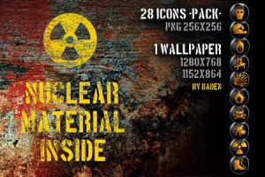 Nuclear Material Inside by me by badendesing