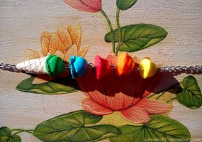 Colorful ice-cream necklace by karmen1611