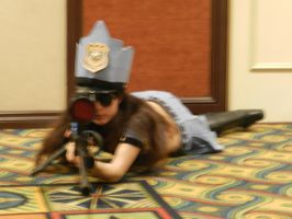 Anime Los Angeles 2015 League of Legends Caitlyn 2 by Demon-Lord-Cosplay