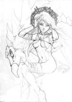 YUME -OFICIAL FIRST SKETCH- by WonderLands