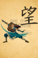 Katara - Hope by DaveBaldwin3D