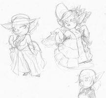 Victorian Goblins by Sireez