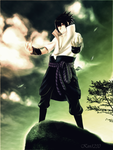 Sasuke ::My name, my pride by kivi1230