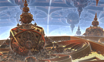 A fractal agora in the Fractal City by Jakeukalane