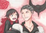 Qrow and Ruby by KawaChou