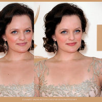 Retouch Elisabeth Moss by theskyinside