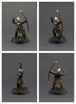 Warriors of Minas Tirith - Bowmen by Colorfulsavage