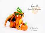 Carmilla, Pumpkin Dragon by rosepeonie