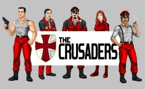 The Crusaders by StridersStrikersTeam