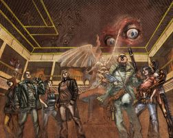 The Complex wraparound cover by fragcomics