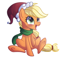 Festive AppleJack by Left2Fail