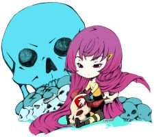Sulk With Her Skulls Again by Foilguitar