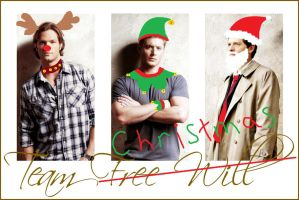 Supernatural Christmas by SWindchesterlover22