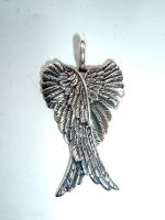 angel wing pendant stock by Aethergoggles-Stock