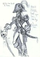 Pirate Captain- Howell Davis by jack8642