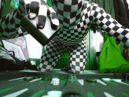 Backgammon Zentai-Altered Version 2 by AgentDrow