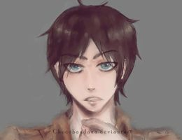 Eren Jaeger Second Attempt by ChocoBandana