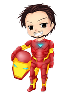 Iron Man Chibi by Leefuu