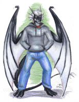 Myan-Dracon Dragon Anthro Commission by Ageaus
