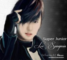 [FanArt]Lee Sungmin by aeundaira