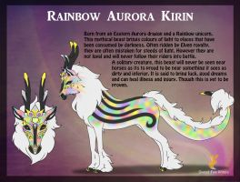 Rainbow Aurora Kirin by Sweet-Fox-Wings