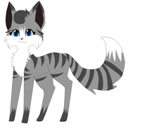 Silverstripe by Sherbetchinchilla