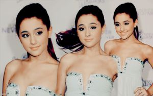 Ariana Grande Blend // Wallpaper . by Nesttles