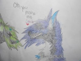 Oh, You make me smile... by Alora18