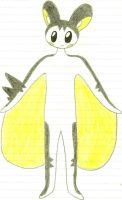 Scout the Emolga by XDTheSnivy