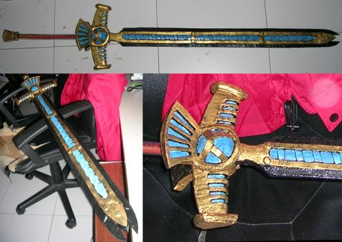 Foam storm glaive by SadKnight