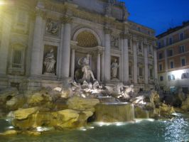 Trevi Fountain, Roma by WonderfulNature
