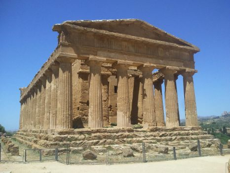 Temple of Concordia, Agrigento by Kay7SK
