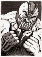 Dark Knight Rises Bane by The-Standard