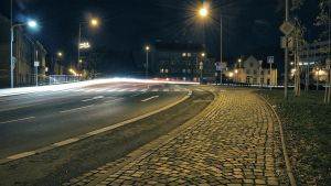 Night street by FrantisekSpurny