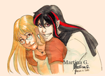 .Commission: ValentineHearts. by Martina-G