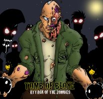 Tomb of Bloke - zombie attack by BIG-D-ARTiZ