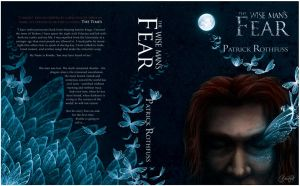 The Wise Man's Fear - Book jacket design by ClaireAdele