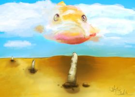 Fish in the Sky by Joct